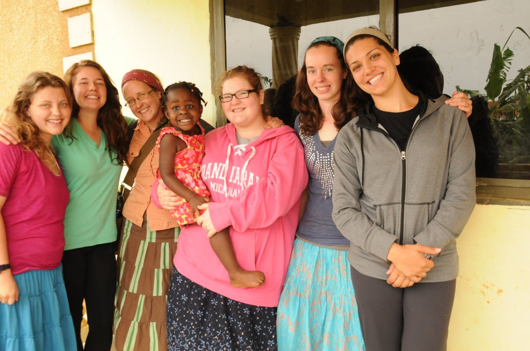 This is the ywam team with Kira...of course. She was so happy to see Americans she wouldn't leave them alone.