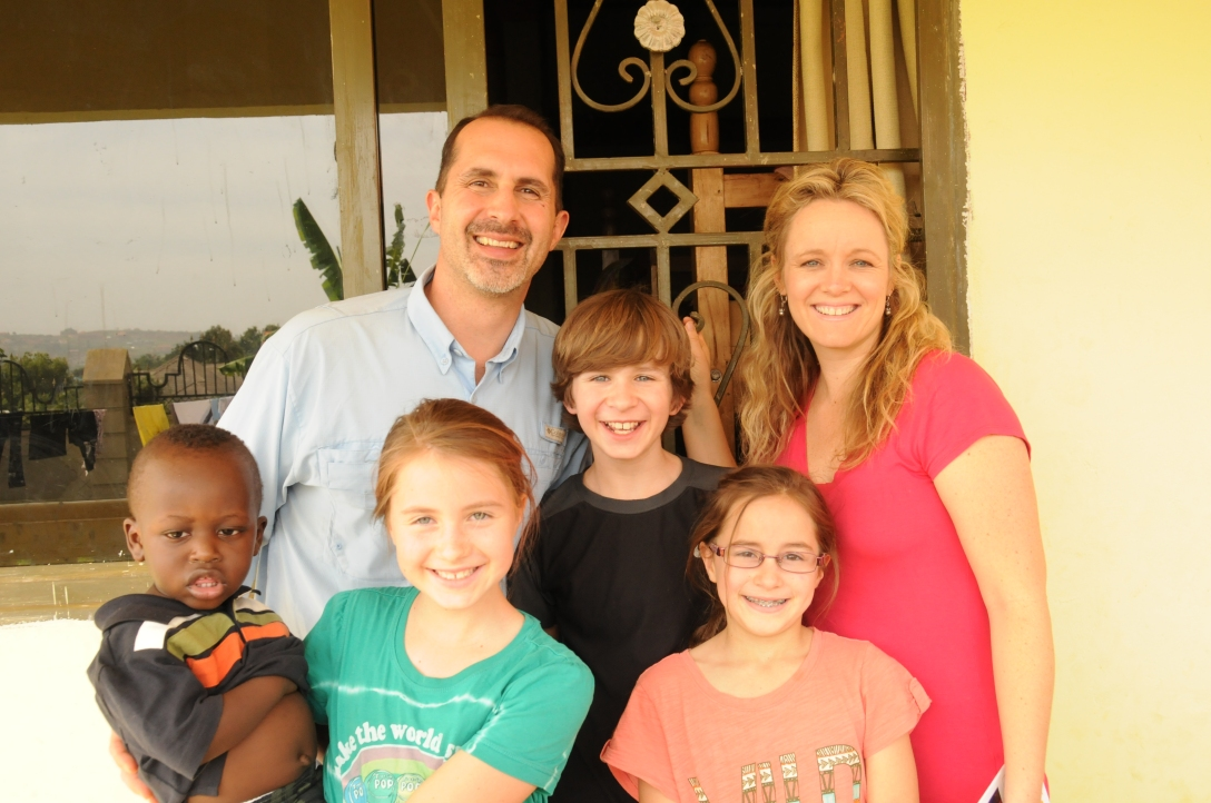 The Valdes Family: Jeff, Erin, Ranger, Bella, Andie, and Andrew