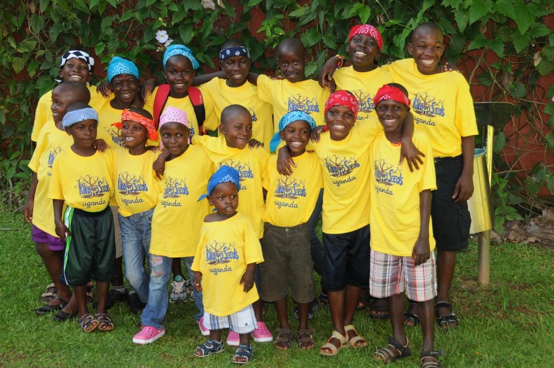 our family in Uganda