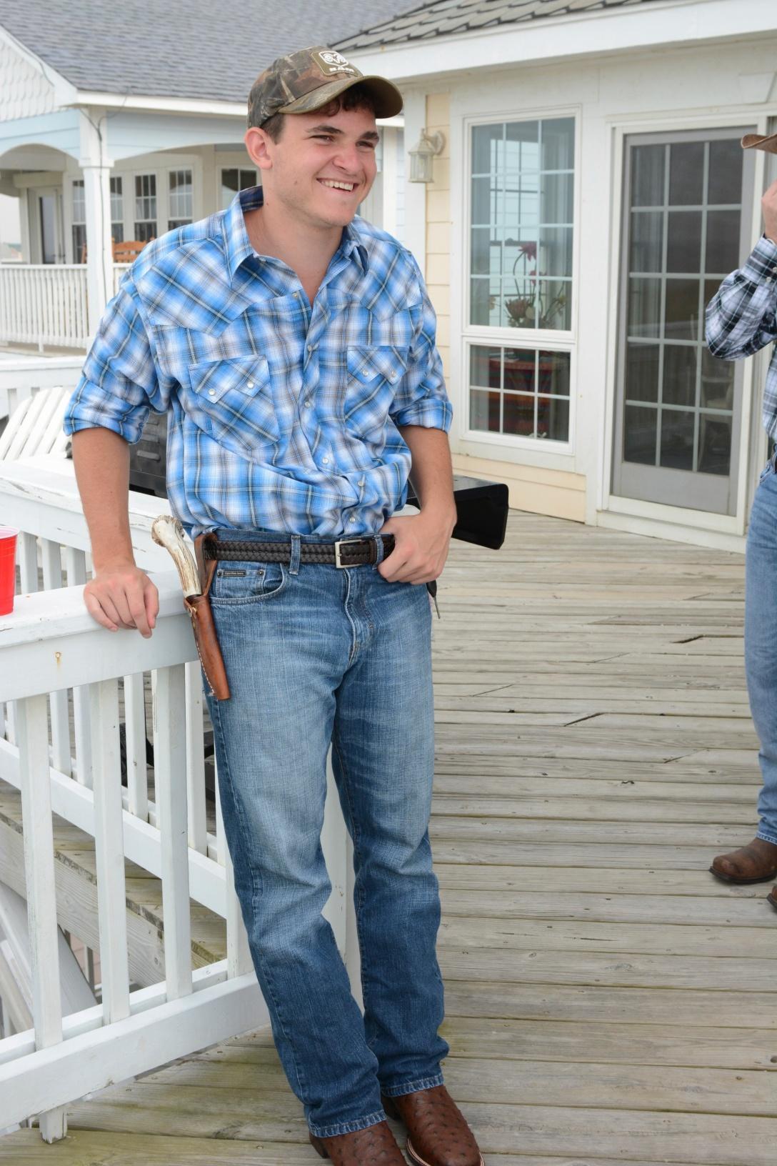 Jordan is my preppy cowboy.