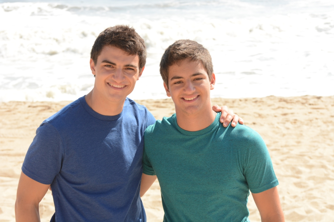 Brothers...they look more and more alike as they get older