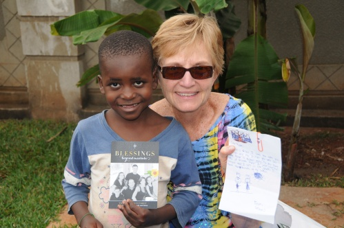Jjajja and Ryan share mail from Gracie (her granddaughter) Many of her friends and relatives sponsor our children!