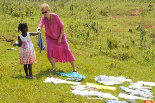 the African clothes dryer