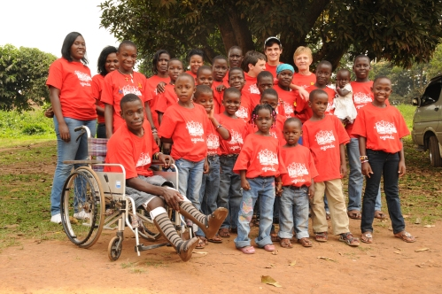 our group photo before outreach