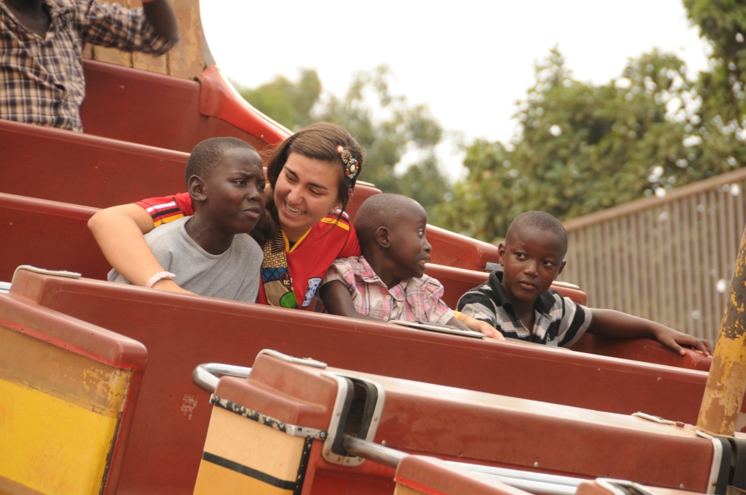 Long ago we took the kids to an amusement park and musa was terrified of the ride. But he certainly isn't afraid of life's most important matters.