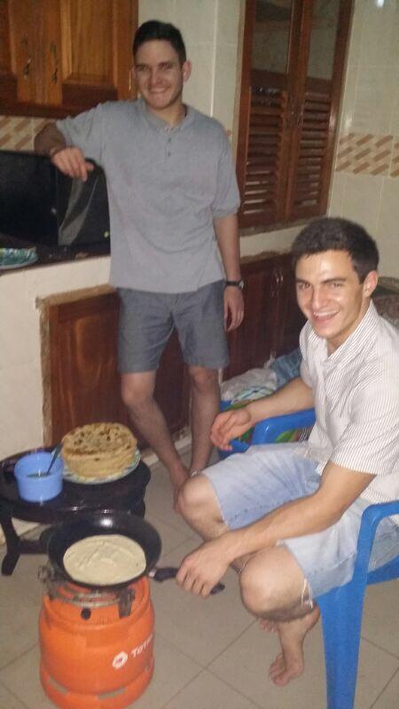 making chipote bread