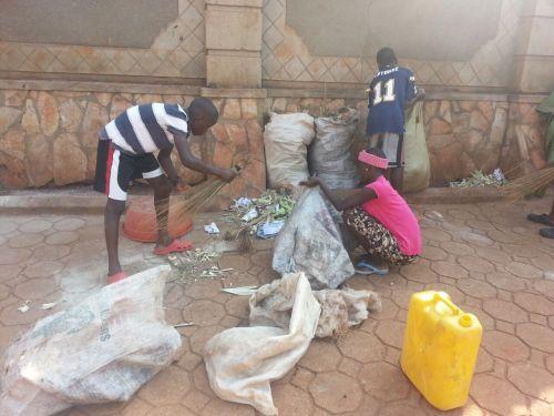 taking out the trash uganda  style