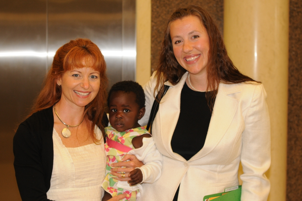 After our adoption was finalized in court with Mary Beth