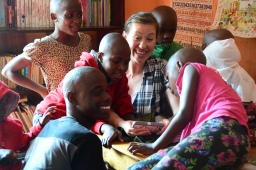 How is Mary Beth doing here in Uganda?