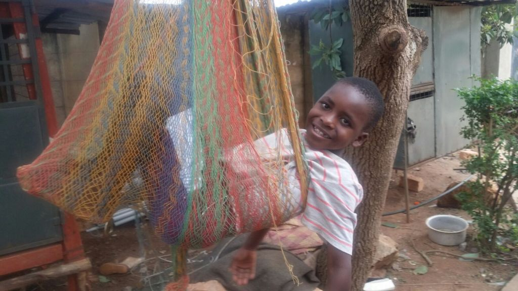 ryan in the hammock...these kids are so blessed by God.