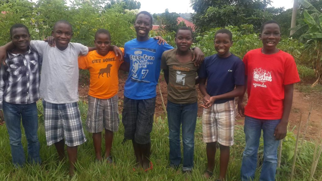 The boys visit Musa at his foster home